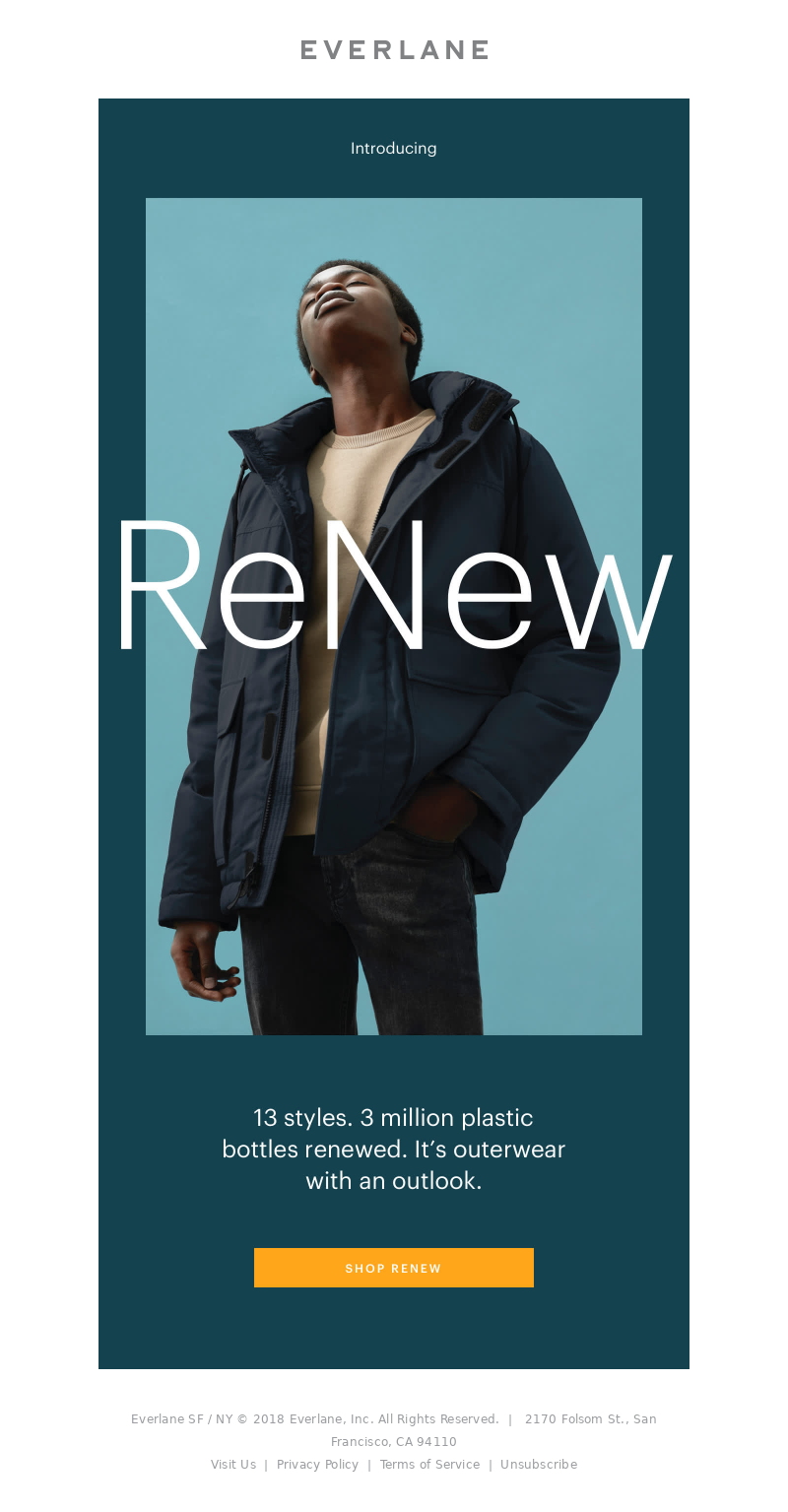 Everlane 2018 10 24 1201 wednesday The Wait Is Over ReNew 2
